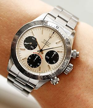 Rolex Vintage Daytona Cosmograph Ref. 6265 year 1986 Gents Watches | Meertz World of Time