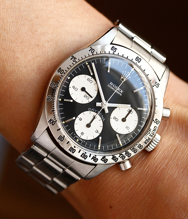 Rolex Vintage Daytona Cosmograph RefId 6262 year 1969 Gents Watches | Meertz World of Time