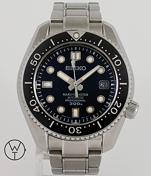 Seiko Marinemaster Ref. 8L35-0010 year 2014 Gents Watches | Meertz World of Time