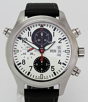IWC Aviator watch Ref. 3718 DFB year 2008 Gents Watches | Meertz World of Time
