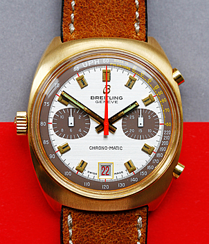 Breitling Chrono-Matic Ref. 2118 year 1972 Gents Watches, Vintage | Meertz World of Time