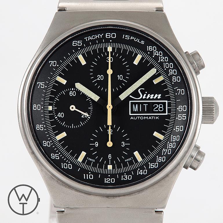 SINN Sportchronograph Ref. 144