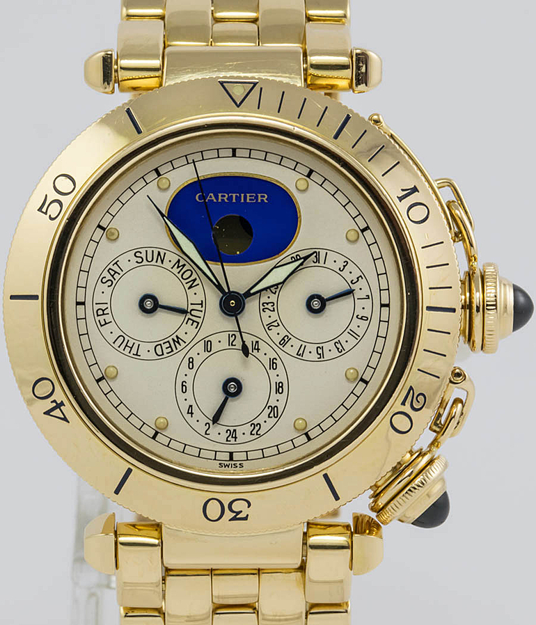 Cartier Pasha RefId 1989 year 1990 Gents Watches, Ladies Watches | Meertz World of Time
