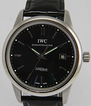 IWC Ingenieur Ref. 3233 Jahr 2008 Herrenuhren | Meertz World of Time
