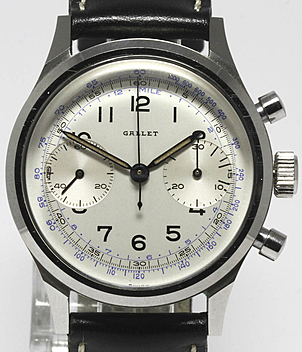 Gallet Jahr ca. 1958 Herrenuhren, Vintage | Meertz World of Time