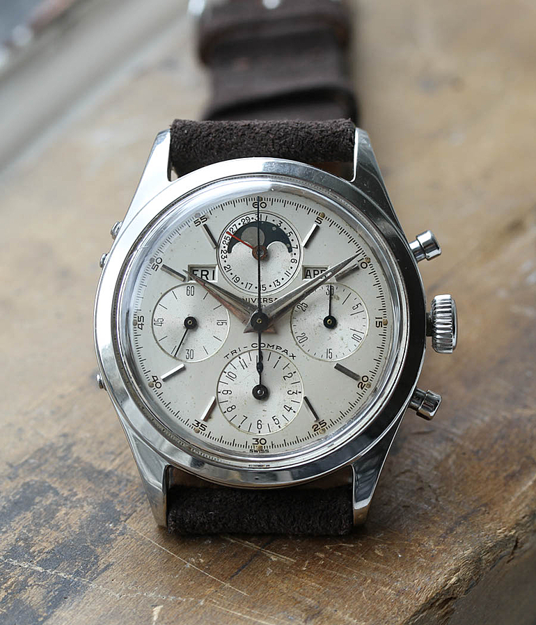 Universal Genève Tri-Compax RefId 22297 3 year 1960 Gents Watches, Vintage | Meertz World of Time