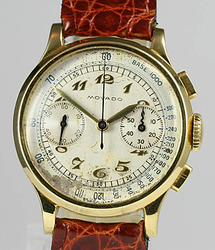 Movado Chronograph Jahr 1950 Vintage, Damenuhren | Meertz World of Time
