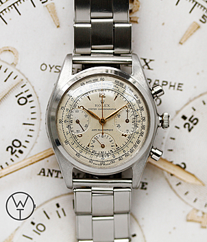Rolex Vintage Chronographe Ref. 4537 year 1947 Gents Watches | Meertz World of Time