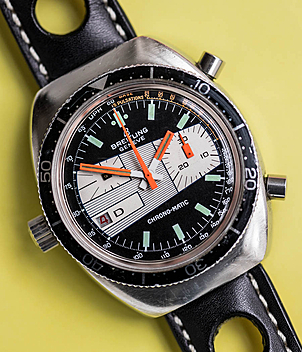 Breitling Chrono-Matic Ref. 2112-15 Herrenuhren, Vintage | Meertz World of Time
