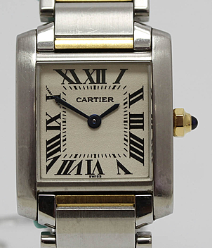 Cartier Tank Française Jahr 2000 Herrenuhren, Damenuhren | Meertz World of Time