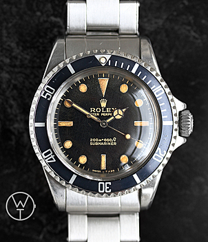 Rolex Vintage Submariner Ref. 5513 year 1966 Gents Watches | Meertz World of Time