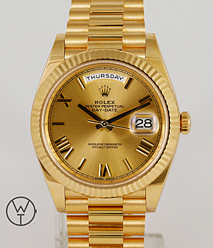 Rolex Day Date 40 Ref. 228238 year 2015 Gents Watches | Meertz World of Time