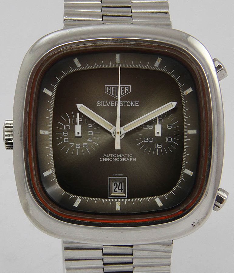 Heuer Silverstone RefId 110.313 F year 1974 Gents Watches, Vintage | Meertz World of Time