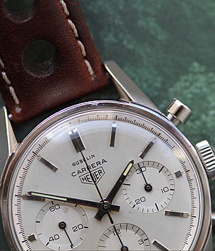 Heuer Carrera Ref. 2447S Herrenuhren, Vintage | Meertz World of Time