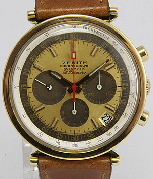 Zenith El Primero year 1970 Gents Watches, Vintage | Meertz World of Time
