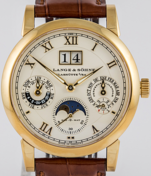 Lange & Söhne Langematic-Perpetual Ref. 310.021 Jahr 2009 Herrenuhren | Meertz World of Time