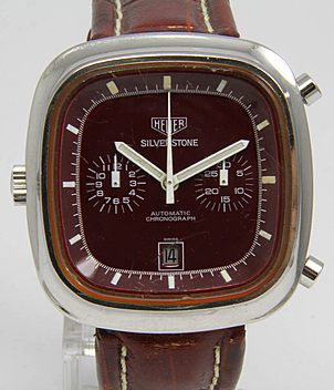Heuer Silverstone Ref. 110.313 R year 1974 Gents Watches, Vintage | Meertz World of Time