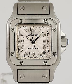 c4eb0a325c55 Cartier Santos Ref. 2423 Jahr 2000 Damenuhren