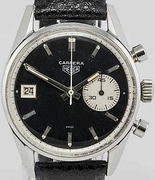 Heuer Carrera Ref. 3147N Jahr 1968 Herrenuhren, Vintage | Meertz World of Time