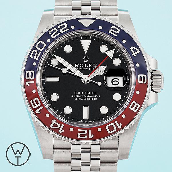 ROLEX GMT Ref. 126710BLRO