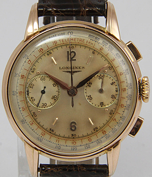 Longines Jahr ca. 1950 Herrenuhren, Vintage | Meertz World of Time