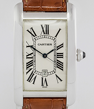 Cartier Tank Américaine year 1995 Gents Watches, Ladies Watches | Meertz World of Time