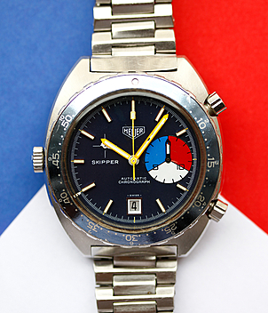 Heuer Autavia Ref. 1163 V year ca. 1970 Gents Watches, Vintage | Meertz World of Time