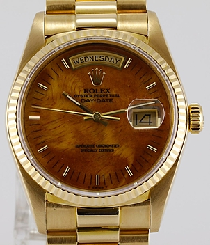Rolex Vintage Day Date Ref. 18038 year 1984 Gents Watches | Meertz World of Time