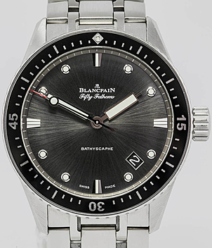 Blancpain Bathyscaphe Ref. 5000-1110 Jahr 2014 Herrenuhren | Meertz World of Time