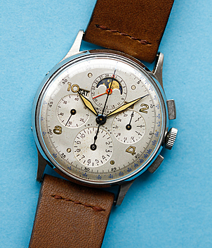 Universal Genève Tri-Compax year ca. 1944 Gents Watches, Vintage | Meertz World of Time