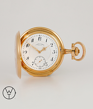 Lange & Söhne Pocket watch year 1914 Pocket-Watches | Meertz World of Time