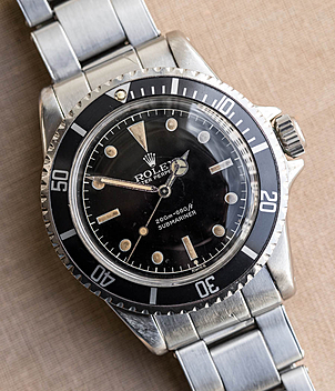 Rolex Vintage Submariner Ref. 5512 Jahr 1962 Herrenuhren | Meertz World of Time