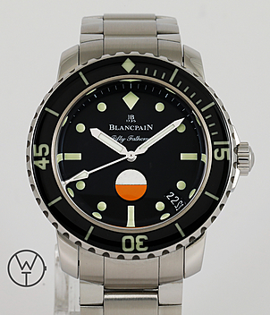 Blancpain Fifty Fathoms Ref. 5008-1130-B52A year 2018 Gents Watches | Meertz World of Time