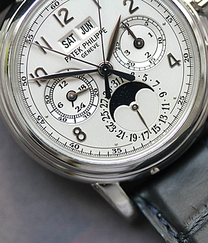 Patek Philippe Grand Complications  Ref. 5004 P Jahr 2004 Herrenuhren, Vintage | Meertz World of Time