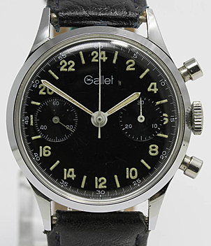 Gallet Jahr ca. 1960 Herrenuhren, Vintage | Meertz World of Time
