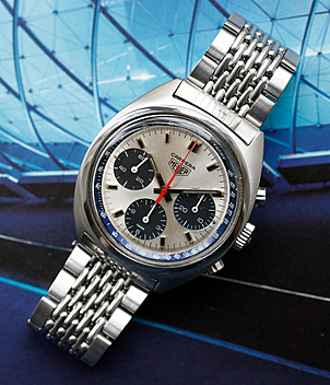 Heuer Carrera Ref. 73653 Jahr 1972 Herrenuhren, Vintage | Meertz World of Time