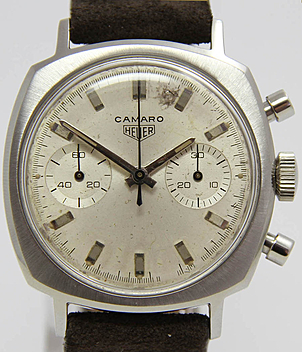 Heuer Camaro Ref. 7743 Jahr ca. 1965 Herrenuhren, Vintage | Meertz World of Time