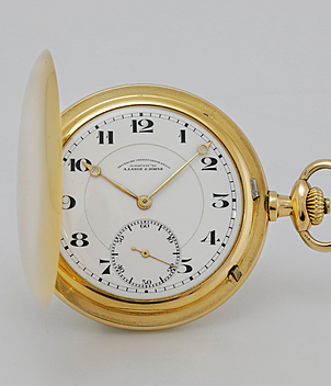 Lange & Söhne Pocket watch year ca. 1922 Pocket-Watches | Meertz World of Time