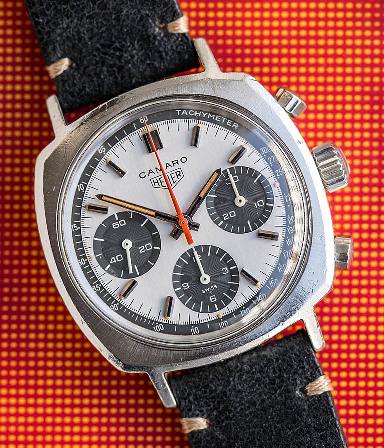 Heuer Camaro RefId 7220 T Herrenuhren, Vintage | Meertz World of Time