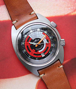 Fortis Marinemaster Jahr 1970 Herrenuhren, Vintage | Meertz World of Time