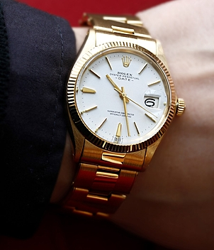 Rolex Vintage Date Ref. 1503 Jahr 1969 Herrenuhren, Damenuhren | Meertz World of Time