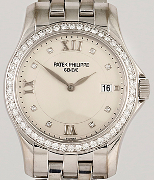Patek Philippe Calatrava Ref. 4906/101G-001 Jahr 2003 Damenuhren | Meertz World of Time