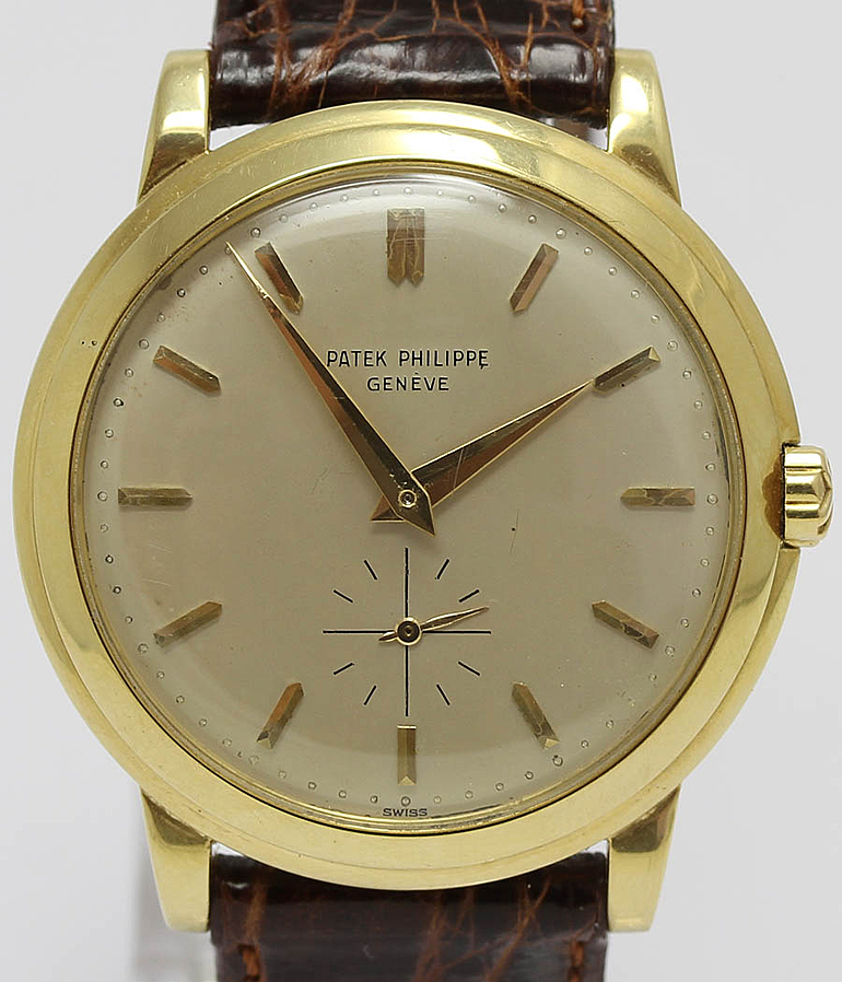 Patek Philippe Calatrava RefId 2552 Jahr 1955 Herrenuhren, Vintage | Meertz World of Time