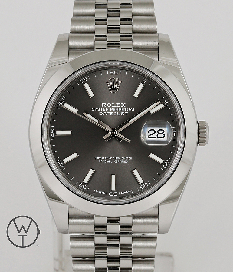 Rolex Datejust 41 RefId 126300 year 2018 Gents Watches | Meertz World of Time