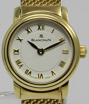 Blancpain  Ladybird Ref. 62-1418-30M Jahr 1998 Damenuhren | Meertz World of Time