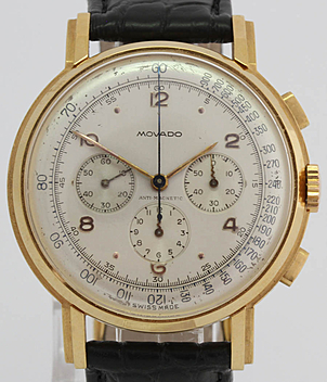 Movado Chronograph Jahr ca. 1945 Herrenuhren, Vintage, Damenuhren | Meertz World of Time