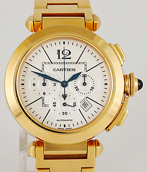 Cartier Pasha Ref. 2861 Jahr ca. 2011 Herrenuhren | Meertz World of Time