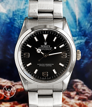 Rolex Explorer Ref. 14270 year 1990 Gents Watches, Ladies Watches | Meertz World of Time