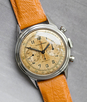Movado Chronograph Jahr 1956 Herrenuhren, Vintage | Meertz World of Time