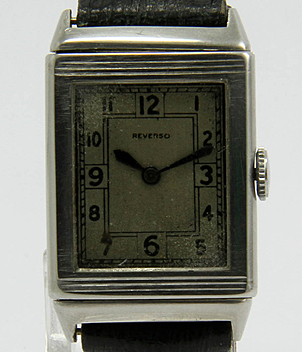 Jaeger LeCoultre Reverso year ca. 1950 Gents Watches, Vintage, Ladies Watches | Meertz World of Time